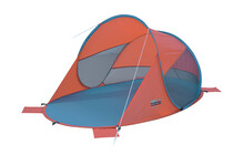 High Peak Pop-Up Strandmuschel Calobra orange/blau